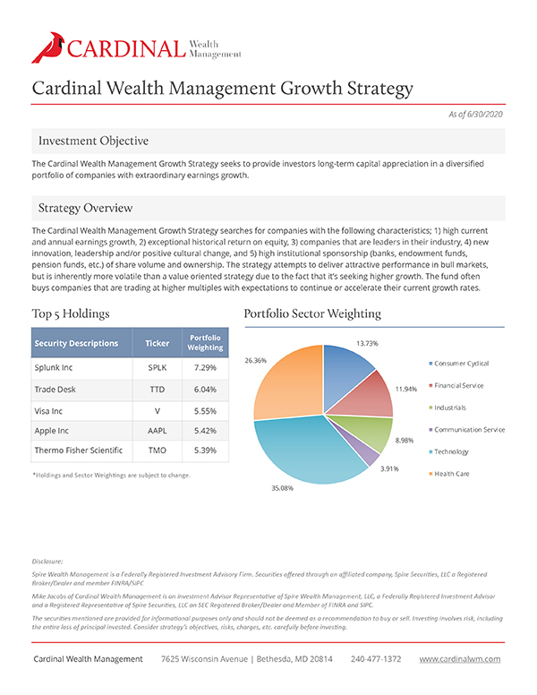 Growth Strategy 6/30/20