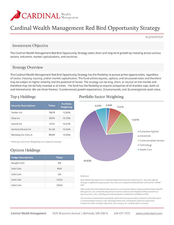 Redbird Strategy 6/30/20